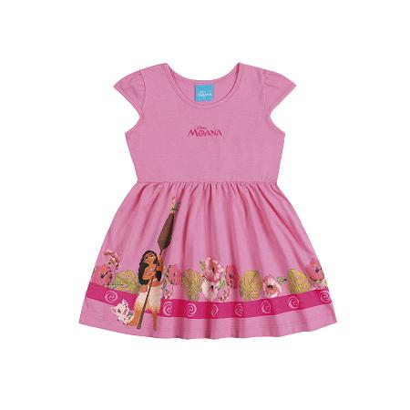 Vestido Infantil Moana