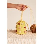 Bolsa Saco Pitanga Amarela