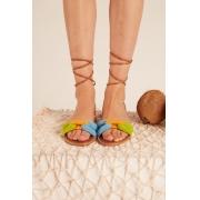 Sandalia Elos Croche Color