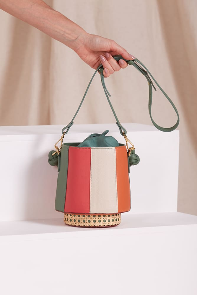 Bolsa Bucket Toscana Colorida
