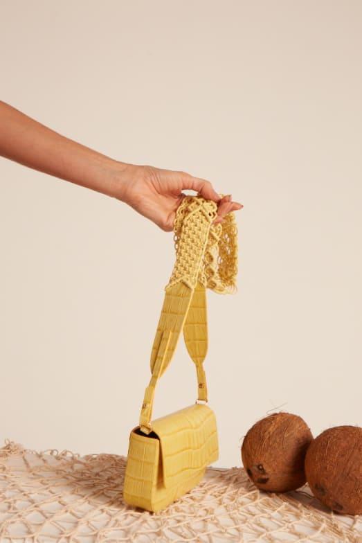 Bolsa Carambola Amarela
