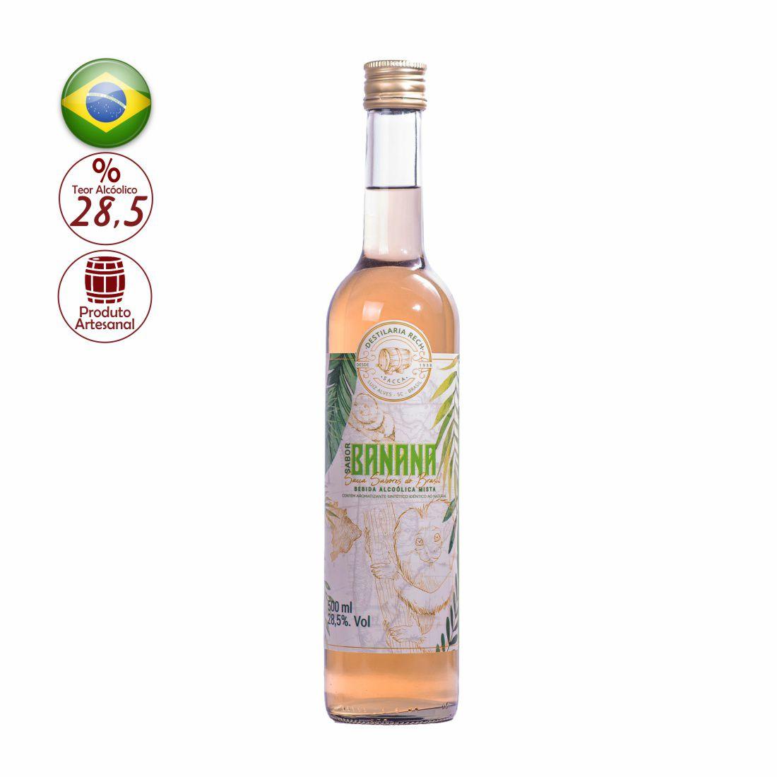 BEBIBA ALCOOLICA MISTA SACCA 500 ML BANANA