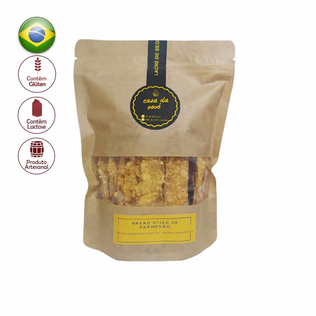 BREAD STICK PARMESÃO CASA DA VOVO 180G