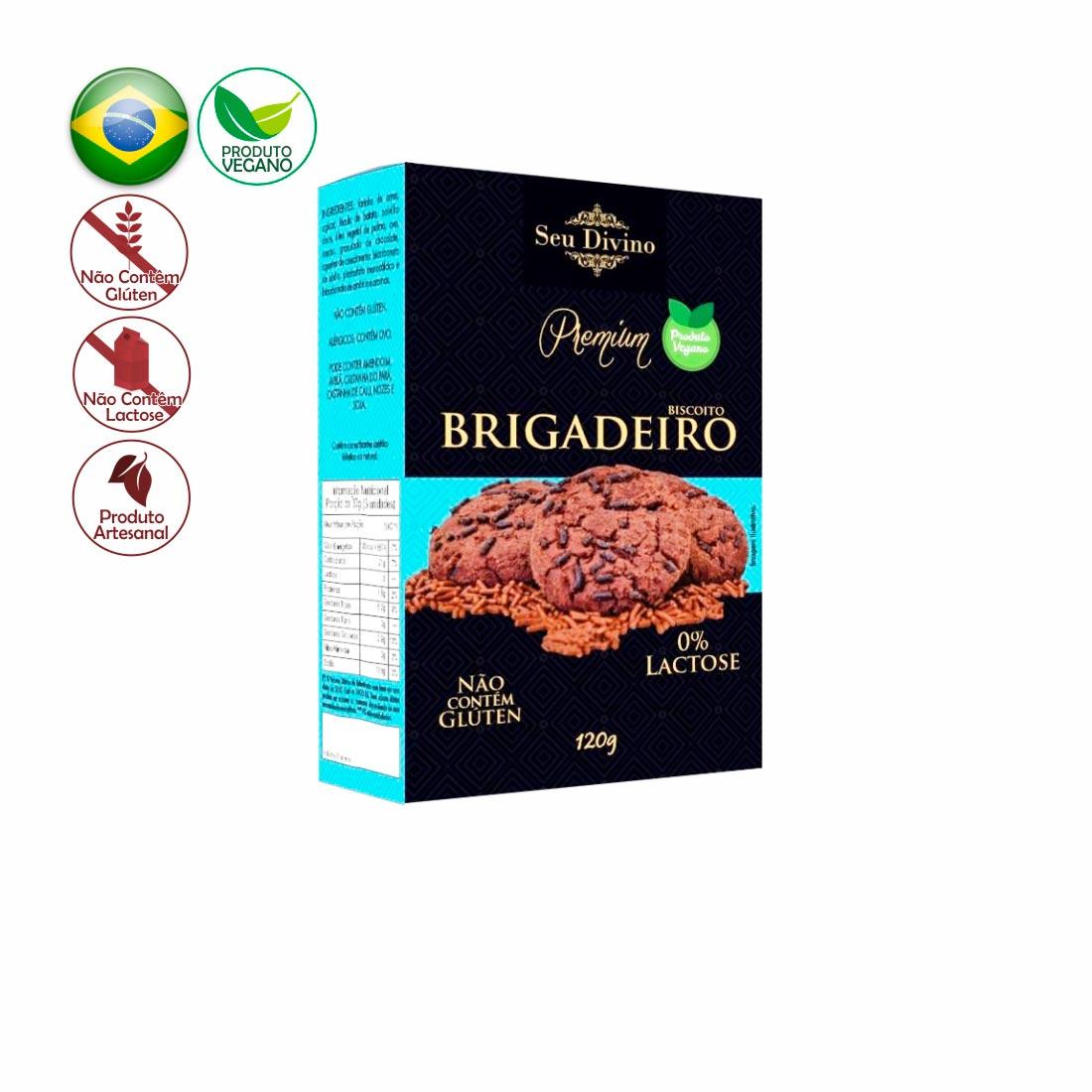 BRIGADEIRO PREMIUM SEU DIVINO S/GLÚTEN  0%LACTOSE VEGANO 120G