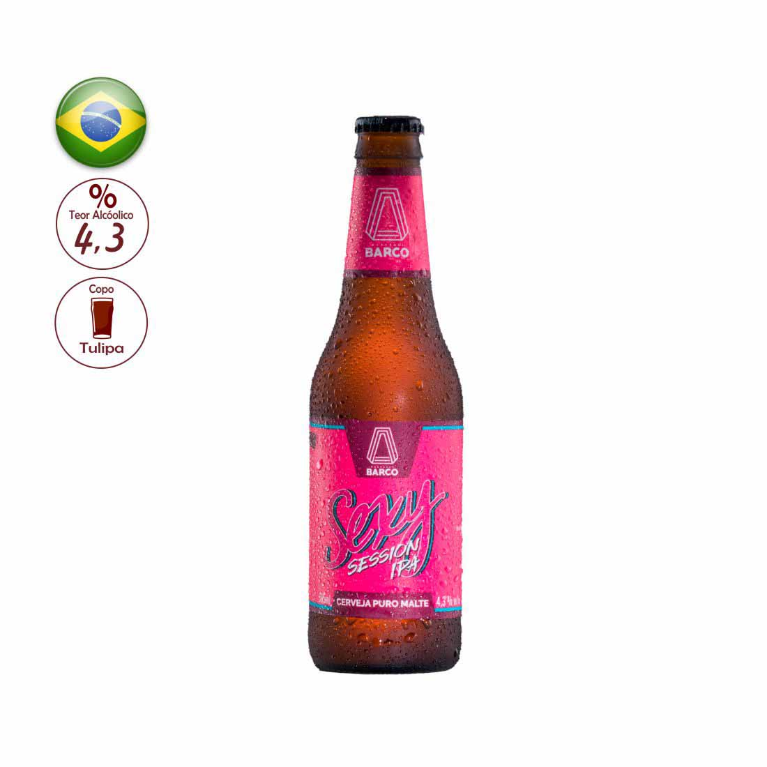 CERVEJA BARCO 355ML SEXY SESSION IPA