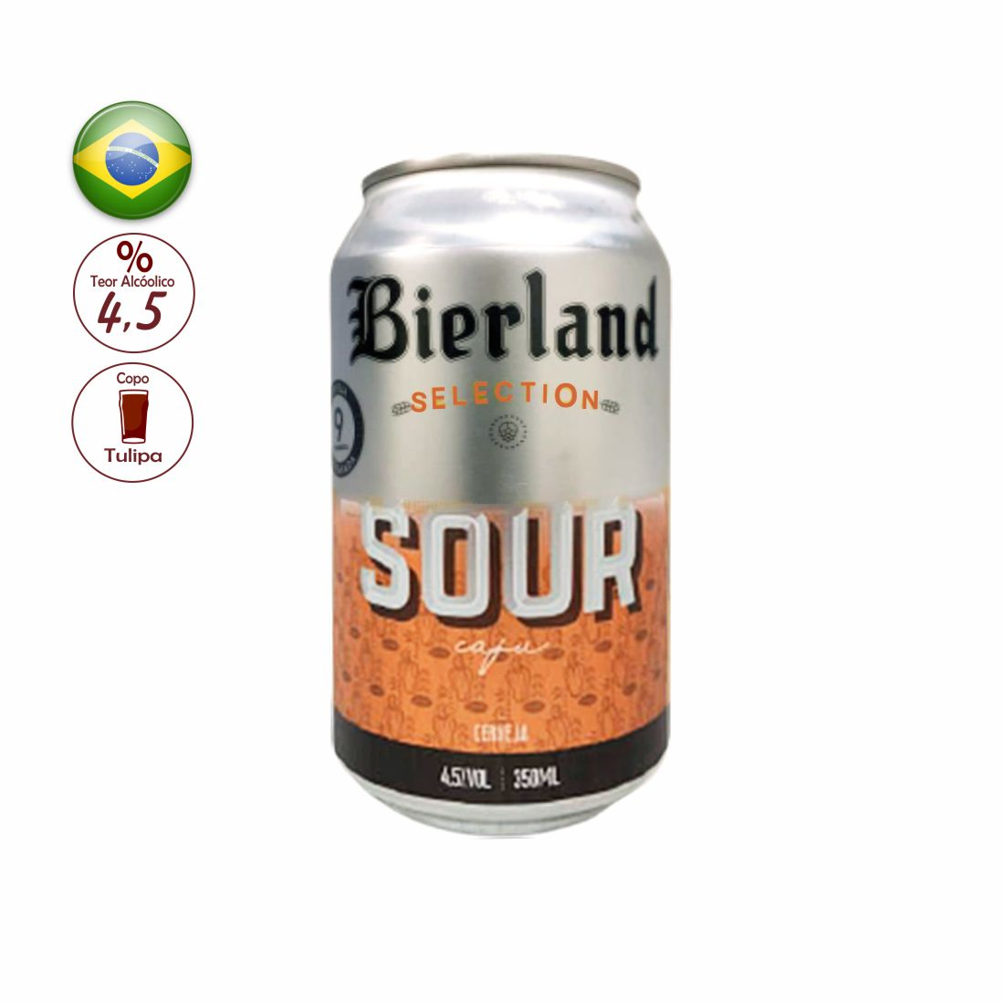 CERVEJA BIERLAND 350ML SELECTION SOUR CAJÚ