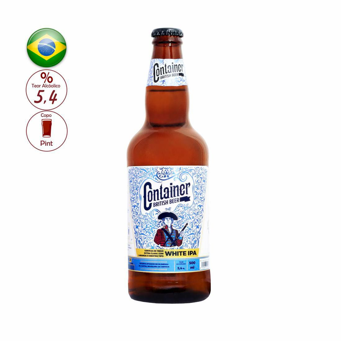 CERVEJA CONTAINER 500ML WHITE IPA