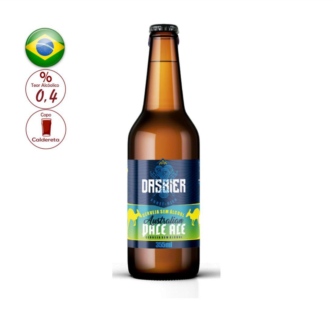 CERVEJA DAS BIER 355ML AUSTRALIAN PALE ALE SEM ALCOOL