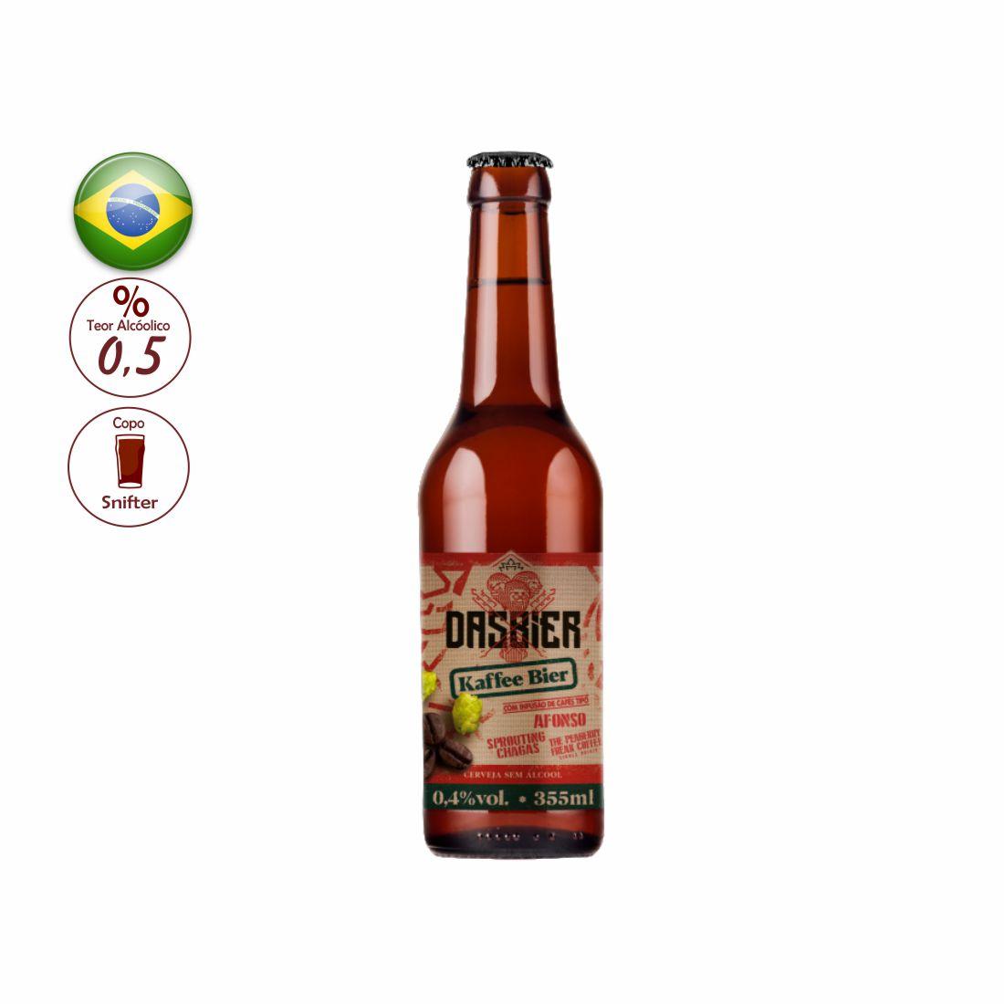 CERVEJA DAS BIER KAFFEE BIER SEM ALCOOL 355 ML