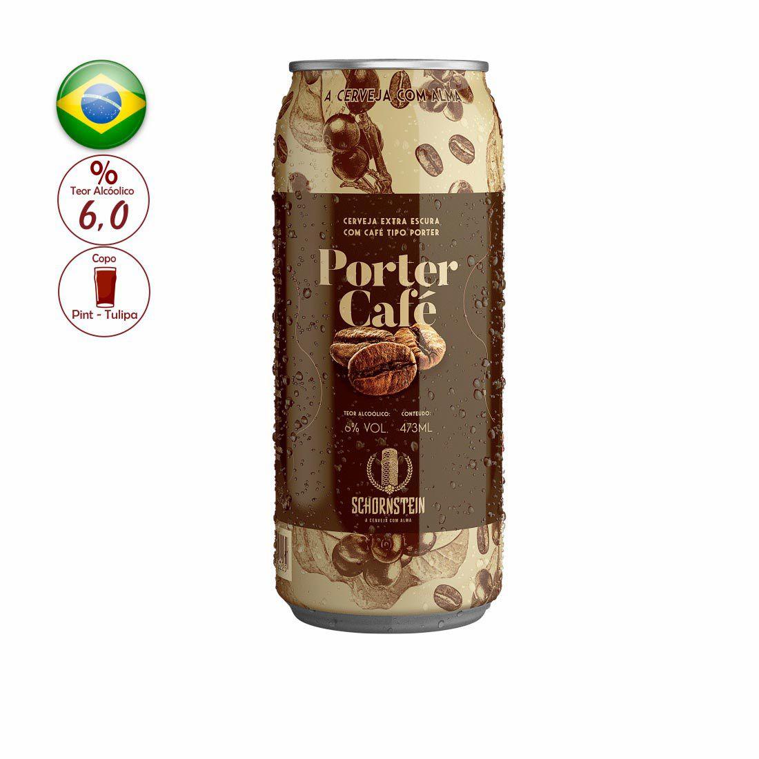 CERVEJA SCHORNSTEIN 473ML PORTER CAFE