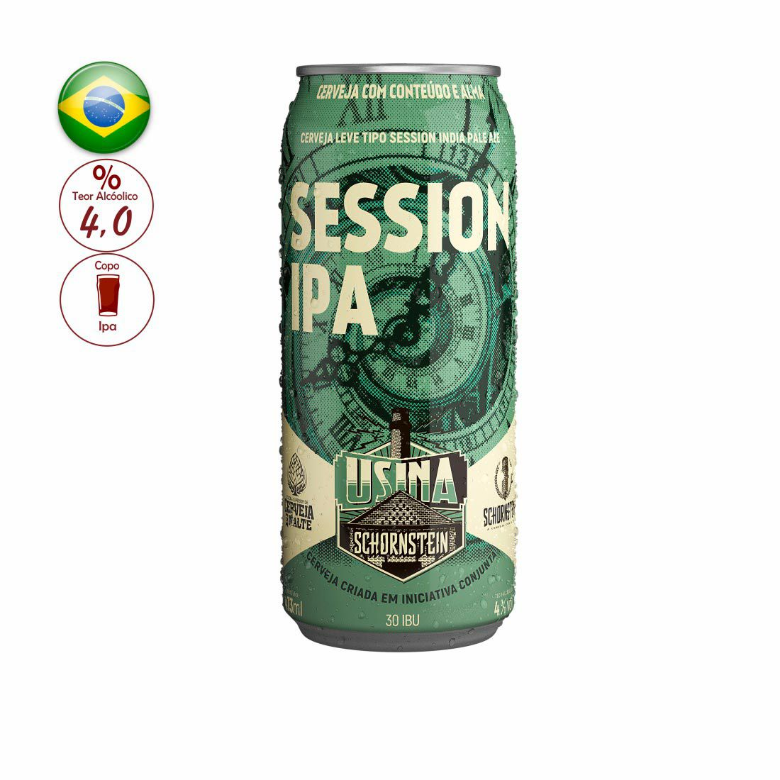 CERVEJA SCHORNSTEIN 473ML SESSION IPA