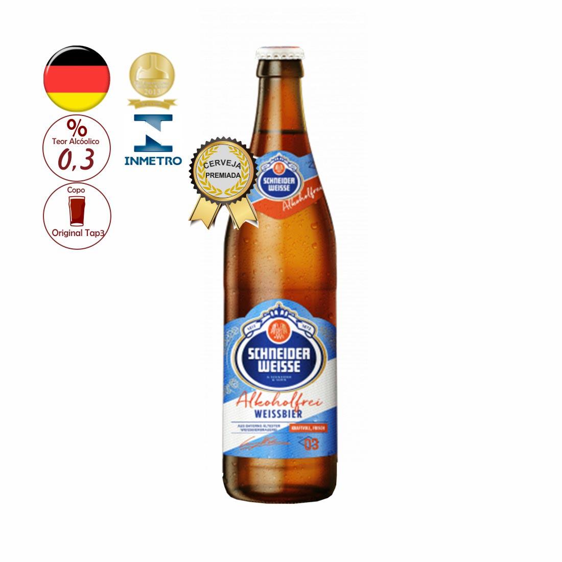 CERVEJA TAP-3 SCHNEIDER WEISSE 500ML MEIN ALKOHOLFREI
