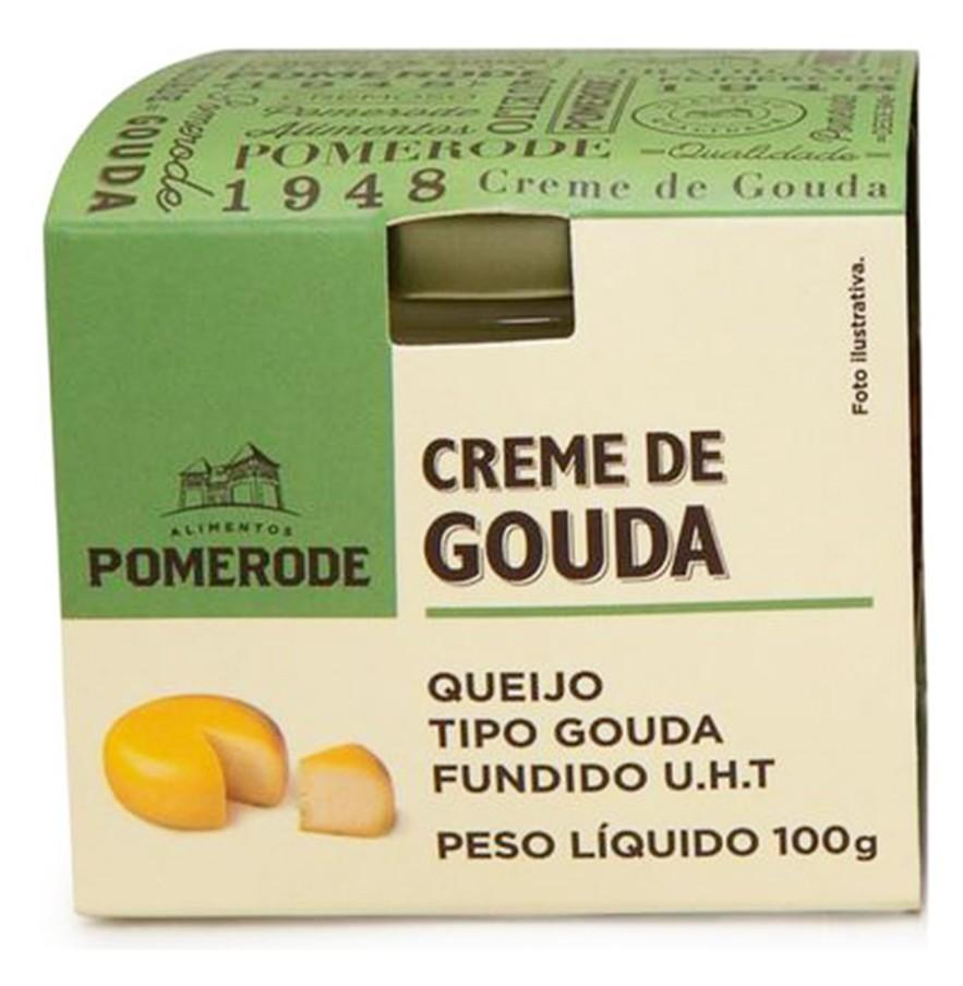 CREME DE GOUDA POMERODE POTE 100G