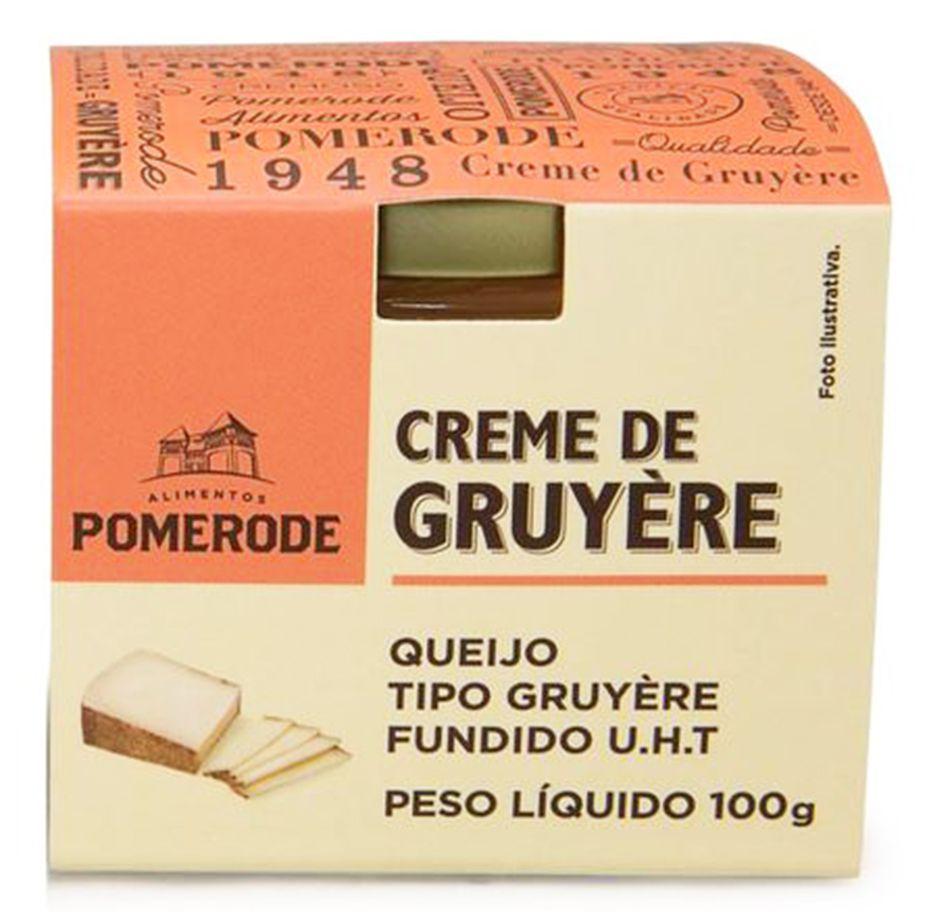 CREME DE GRUYERE POMERODE POTE 100G