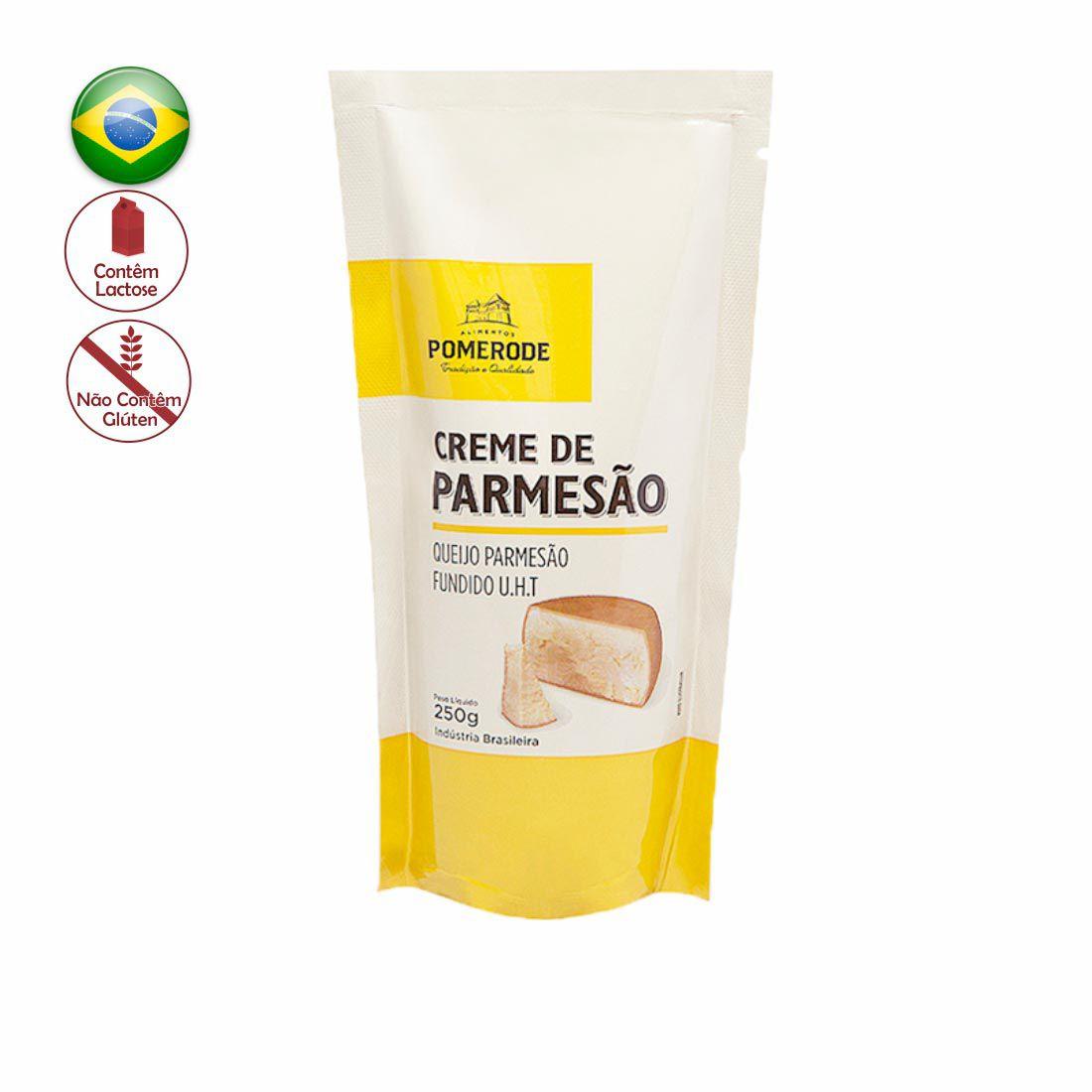 CREME DE PARMESAO POMERODE SACHE 250 G
