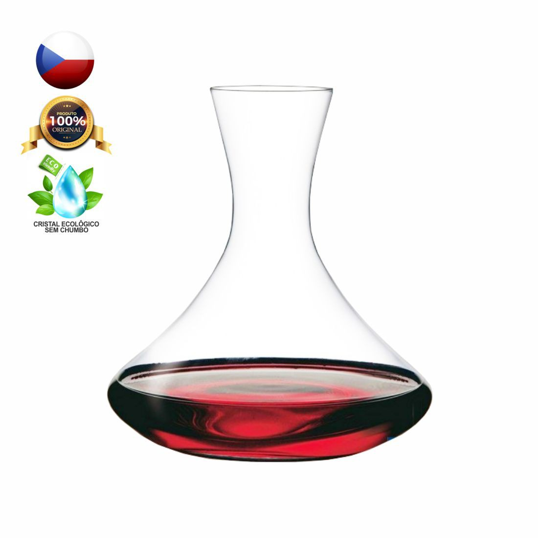 DECANTER CRISTAL BOHEMIA 1500 ML