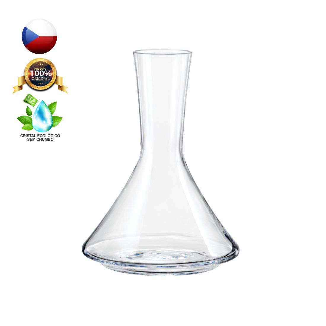 DECANTER XTRA CRISTAL BOHEMIA 1400 ML