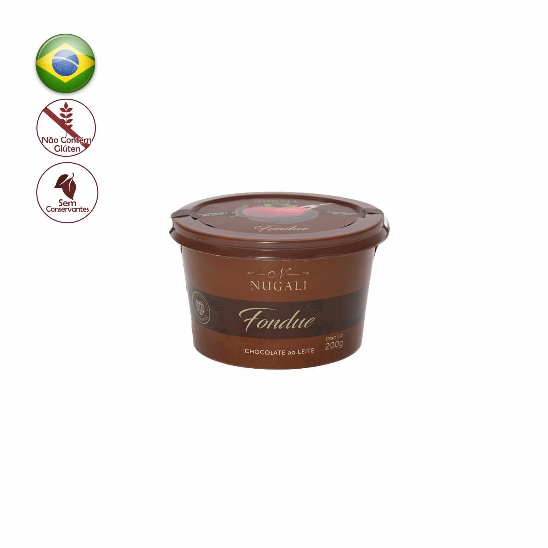 FONDUE NUGALI 200G CHOCOLATE AO LEITE