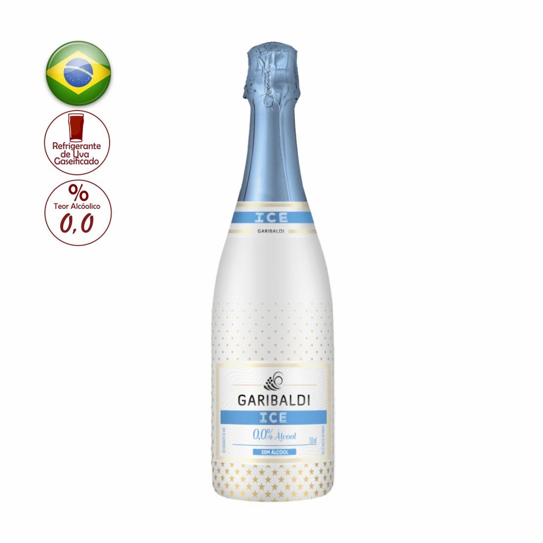 ICE DRINK GARIBALDI  ZERO ALCOOL 750ML