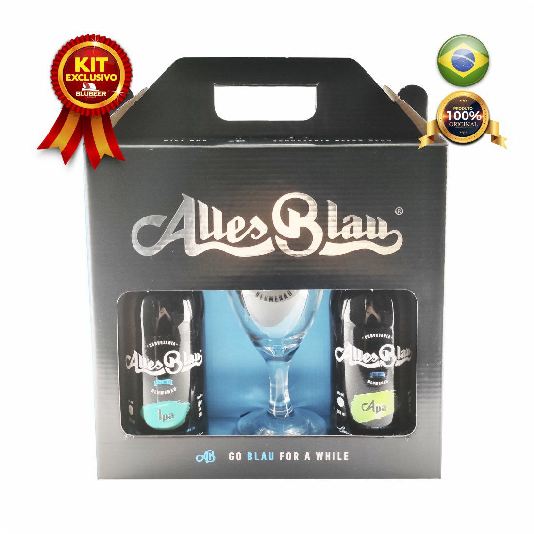 KIT ALLES BLAU APA + IPA + COPO 300ML