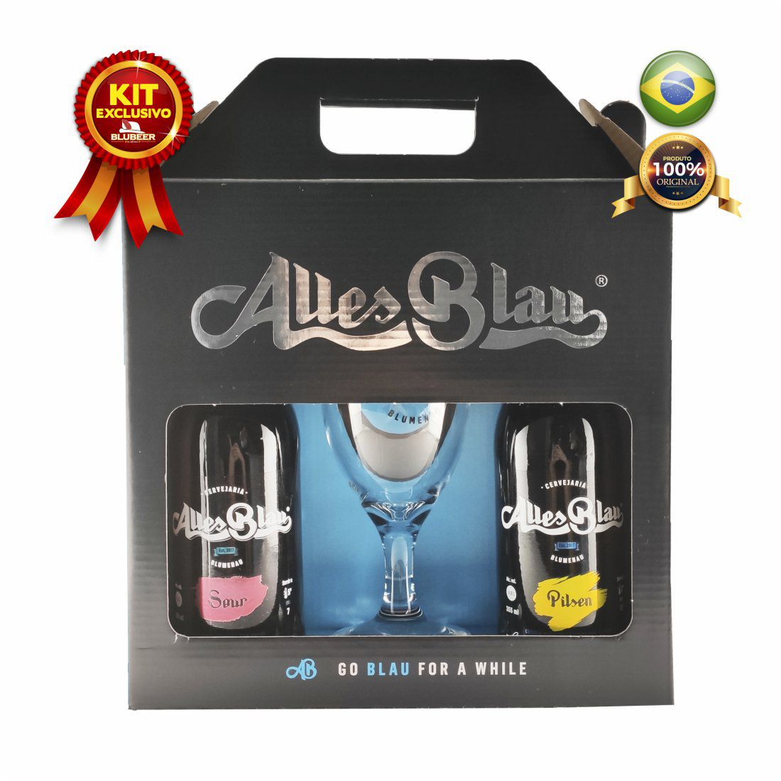 KIT ALLES BLAU SOUR + PILSEN + COPO 300ML