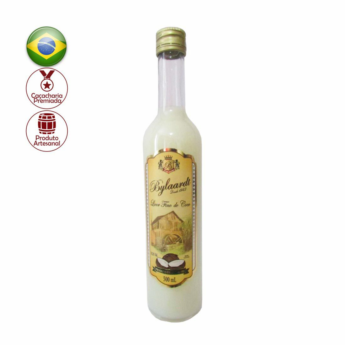 LICOR DE COCO FINO BYLAARDT 500 ML