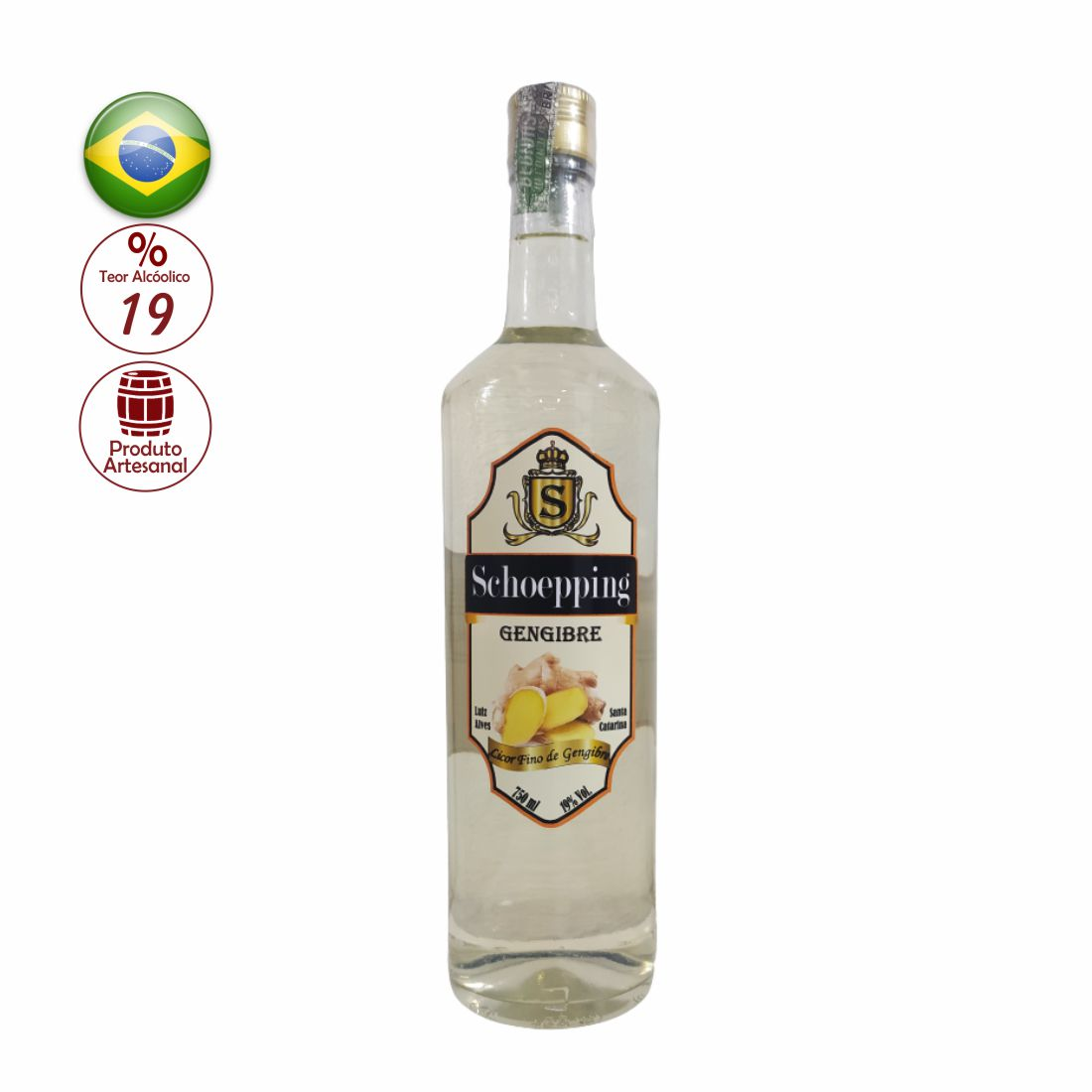 LICOR SCHOEPPING 750ML GENGIBRE