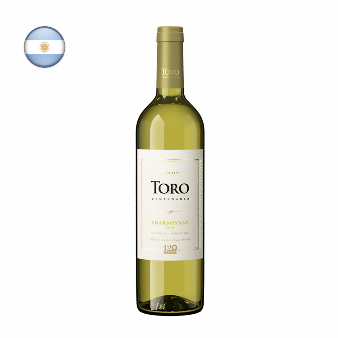 VINHO ARGENTINO TORO 750ML CHARDONAY