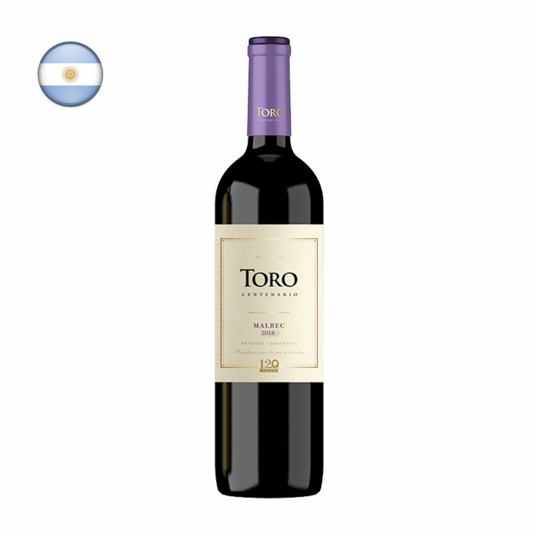 VINHO ARGENTINO TORO 750ML MALBEC