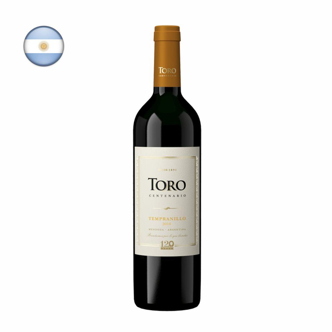 VINHO ARGENTINO TORO 750ML TEMPRANILLO