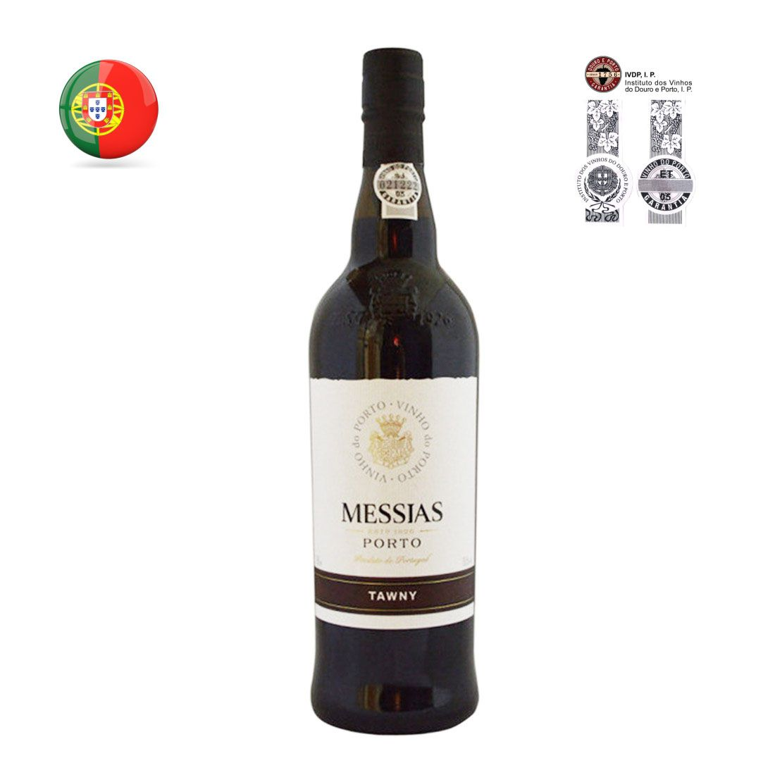 VINHO DO PORTO MESSIAS 750ML TAWNY