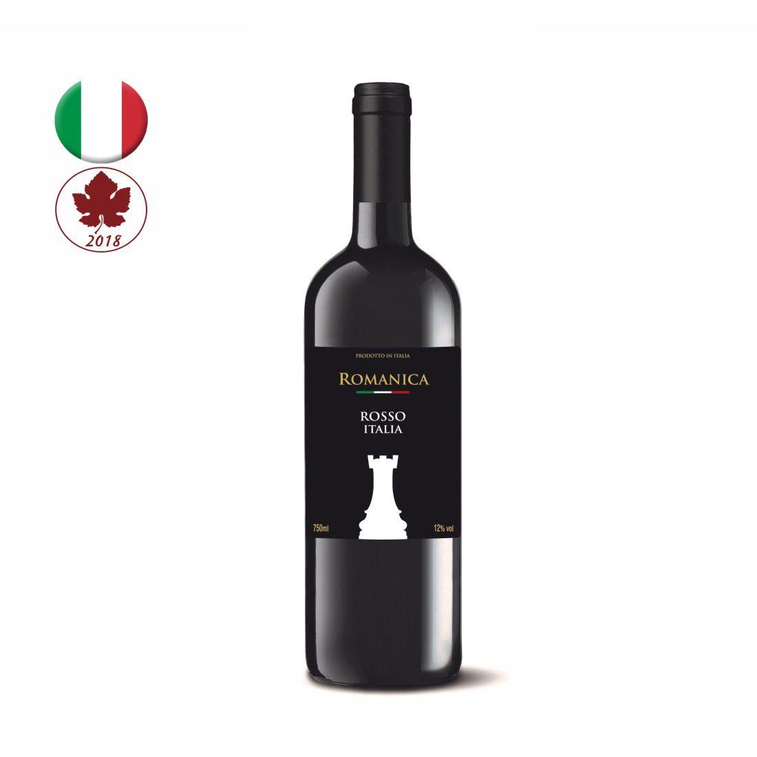 VINHO TORRE ROMANICA ITALIANO 750ML - ROSSO