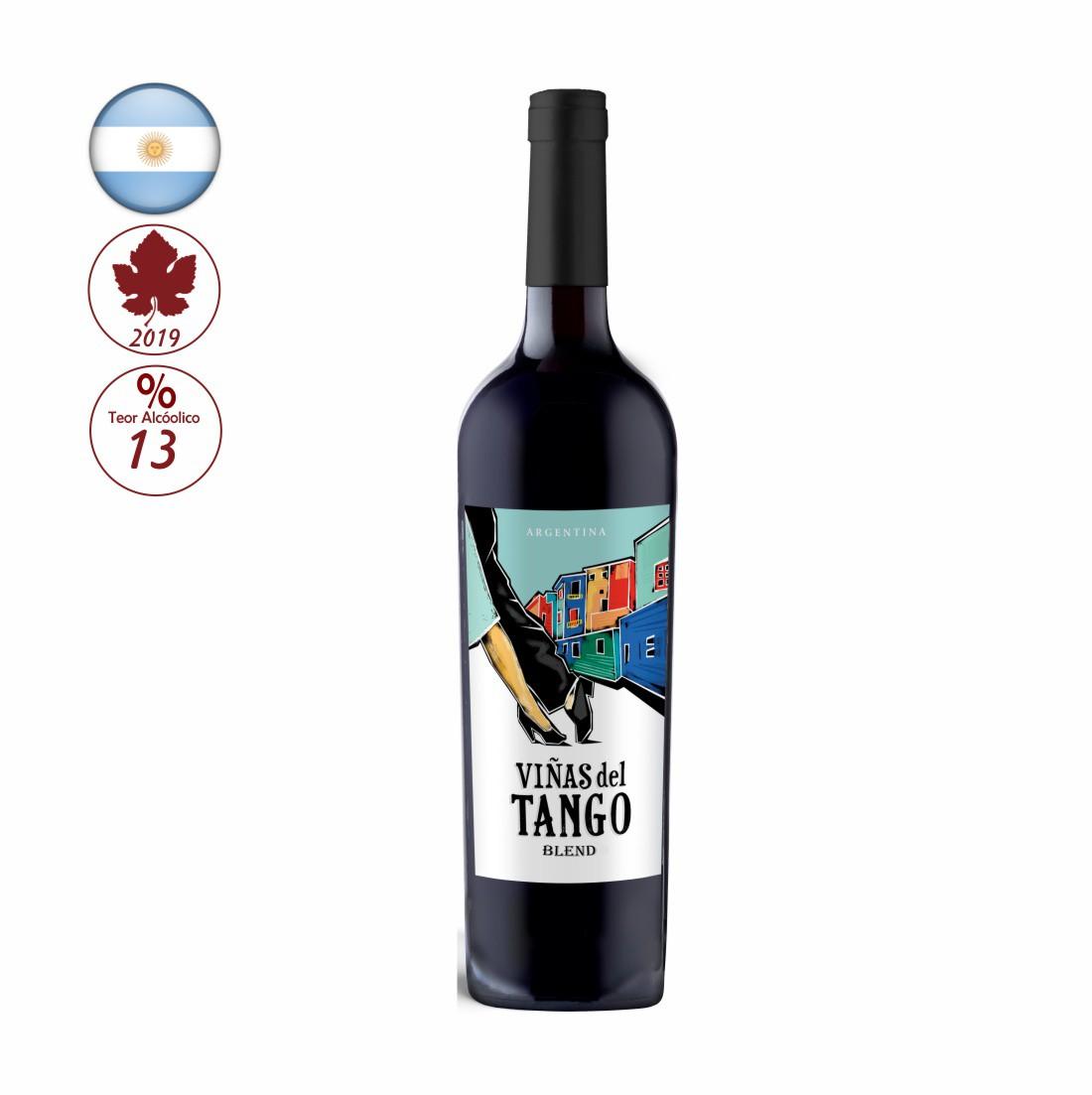 VINHO VIAS DEL TANGO 750ML BLEND