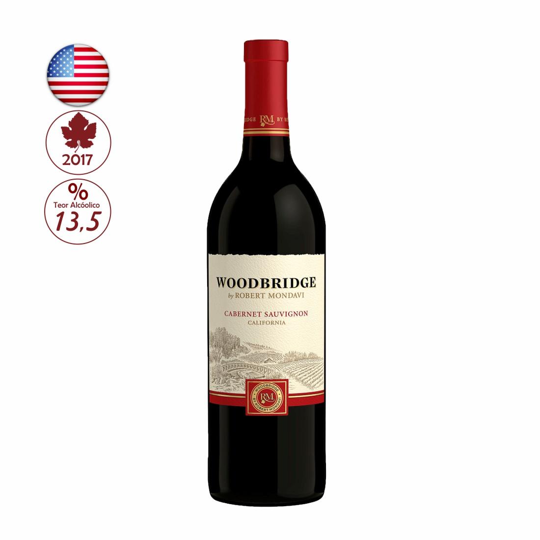 VINHO WOODBRIDGE R.MONDAVI 750ML CABERNET SAUVIGNON