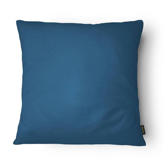 Almofada Cheia 43x43cm Azul Lisa Belchior
