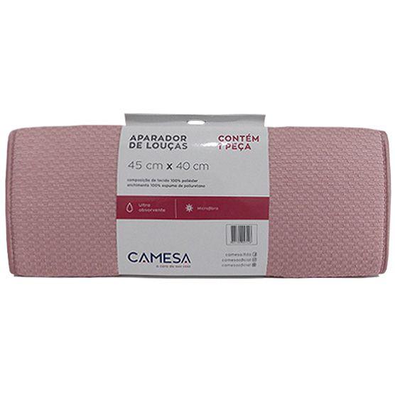 Aparador de Louças Camesa Microfibra Rosa Ultra Absorvente 40x45cm