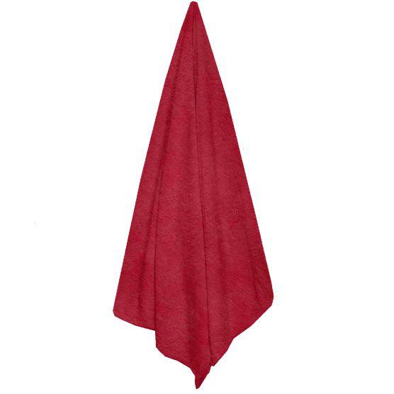 Cobertor Queen Microfibra Liso Vermelho 2,20x2,40m Camesa
