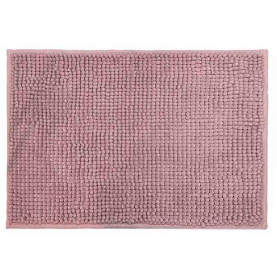 Cortina para Box + Tapete Antiderrapante para Banheiro Remix Rosa 2 peças