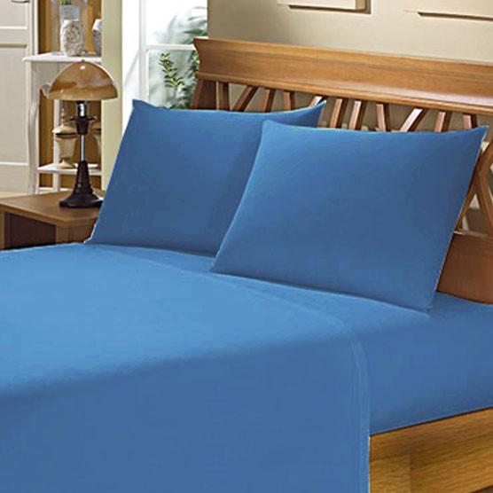 Fronha Avulsa para Travesseiro 150 Fios 50x70cm Azul Escuro Camesa