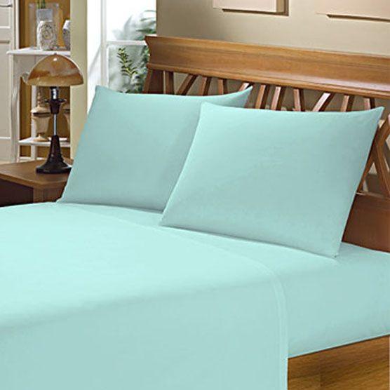Fronha Avulsa para Travesseiro 150 Fios 50x70cm Azul Piscina Camesa