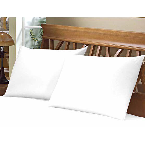 Fronha Avulsa para Travesseiro 150 Fios 50x70cm Branca Camesa