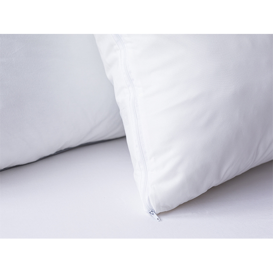 Kit c/ 2 Protetores Capa de Travesseiro Camesa Impermeável 50x70 cm