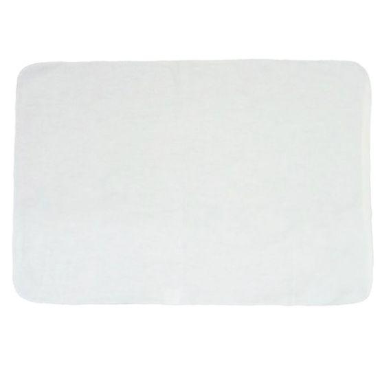 Kit Flanela G para Limpeza KN 100% Algodão Branca 38x58cm 12 peças