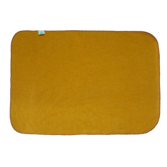 Kit Flanela G para Limpeza KN 100% Algodão Laranja 38x58cm 12 peças