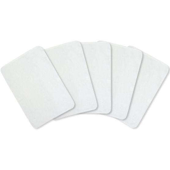 Kit Flanela M para Limpeza KN 100% Algodão Branca 28x48cm 12 peças