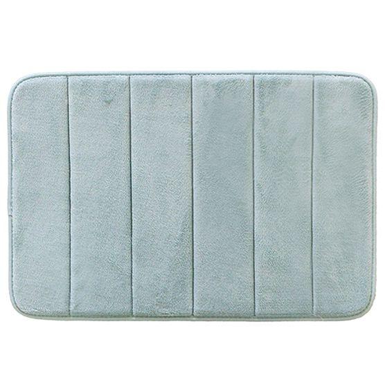 Tapete Para Banheiro Camesa Super Soft Macio Antiderrapante Verde  40x60cm