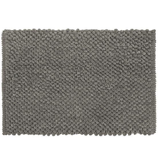 Tapete para Banheiro Micropop Bege Antiderrapante e Ultra absorvente 40x60cm Camesa