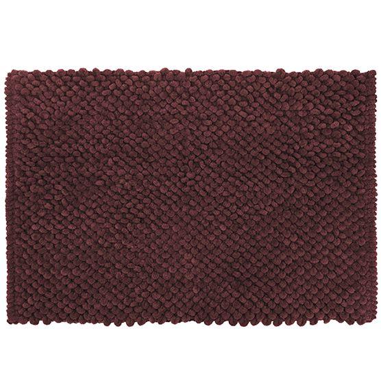 Tapete para Banheiro Micropop Vermelha Antiderrapante e Ultra absorvente 40x60cm Camesa