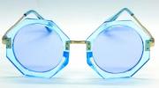 Óculos Acetato Feminino Clean Azul