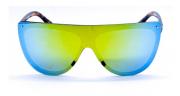 Óculos de Sol Acetato Feminino Mascara Estampado Lt. Amarela